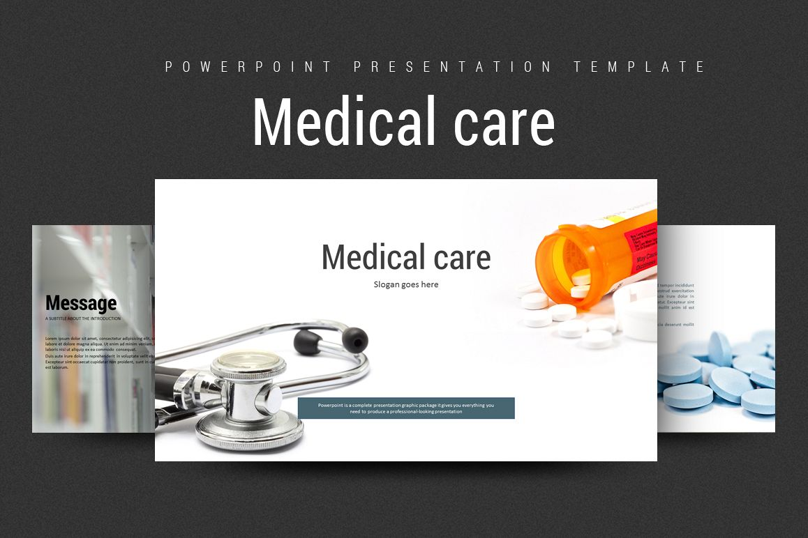 Medical PPT Template example image 1