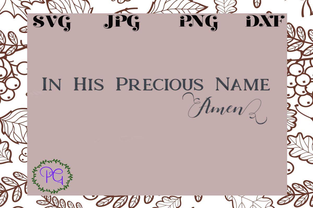 Amen example image 1
