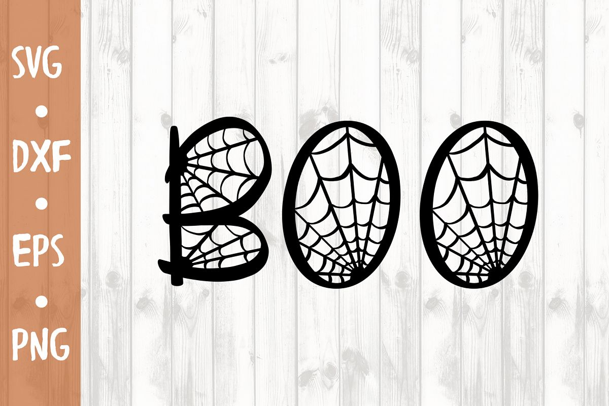 Boo SVG CUT FILE example image 1