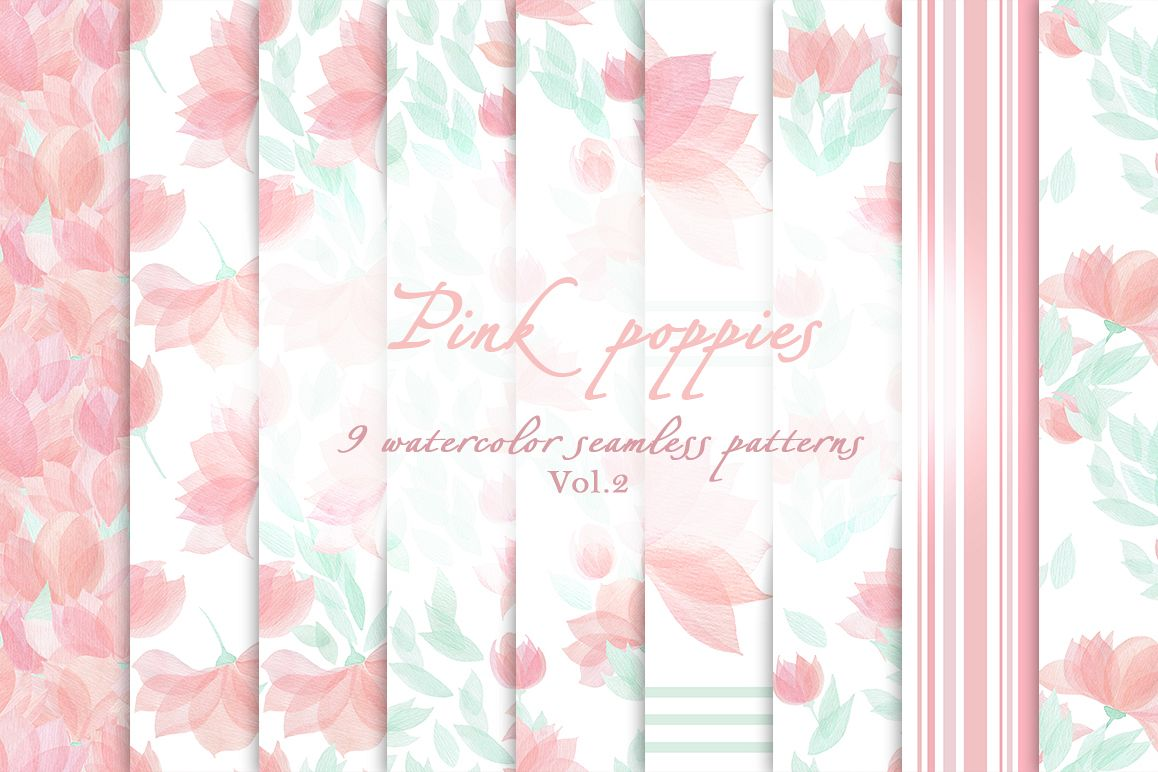 Pink poppies Vol.2 example image 1