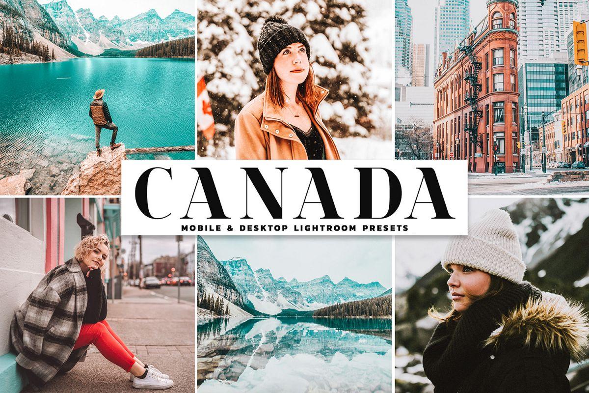 Canada Mobile & Desktop Lightroom Presets example image 1