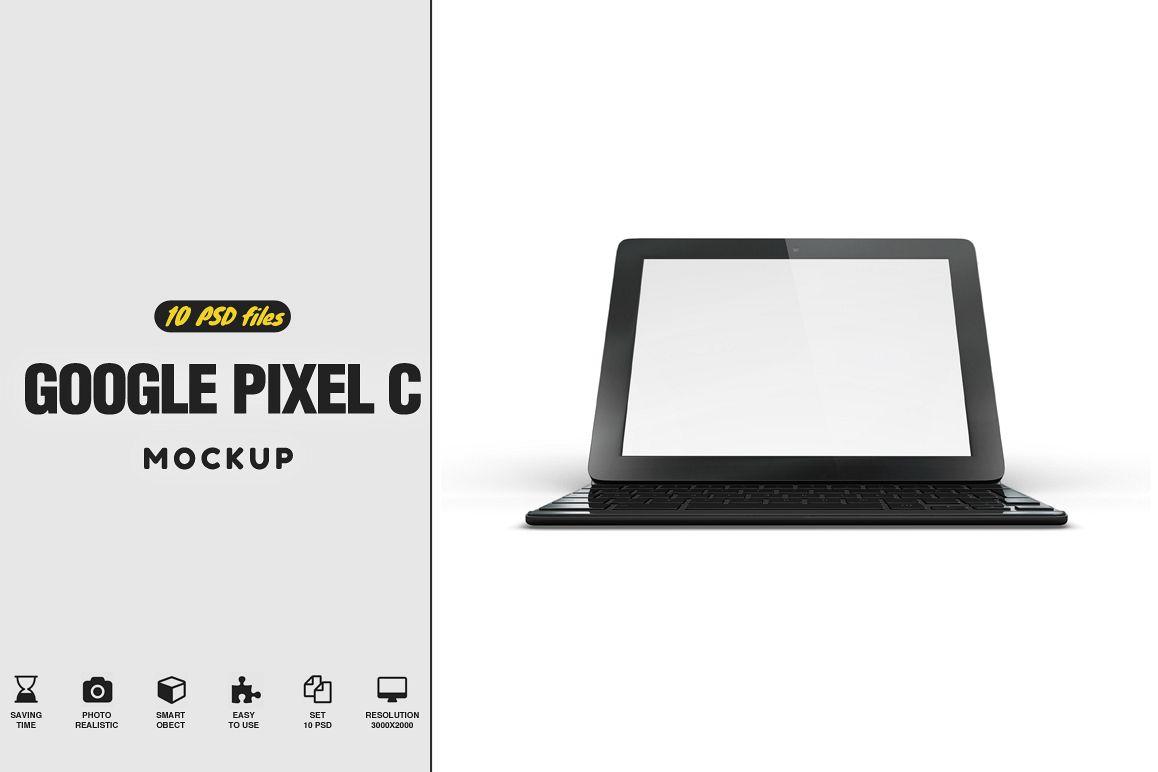 Google Pixel C Tablet Mockup example image 1