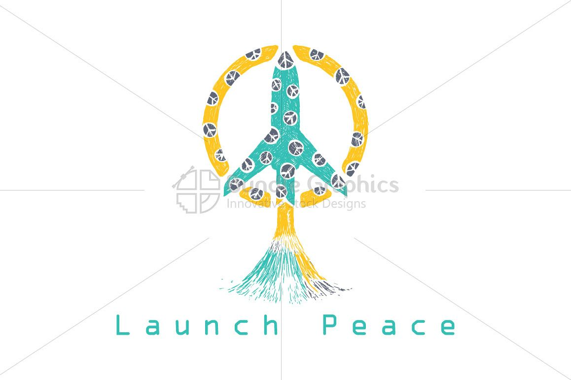 Launch Peace - Illustrative Composition on World Peace Mission example image 1