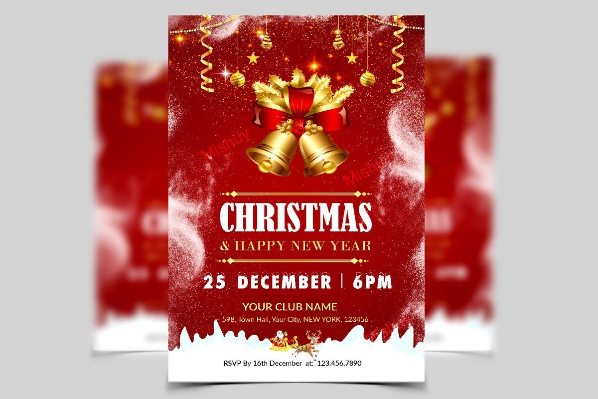 Christmas Flyer.Christmas Flyer Template