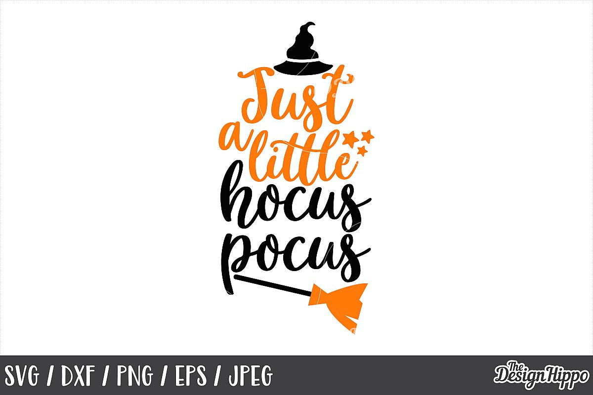 Just a little hocus pocus SVG, Hocus pocus, Halloween, SVG example image 1