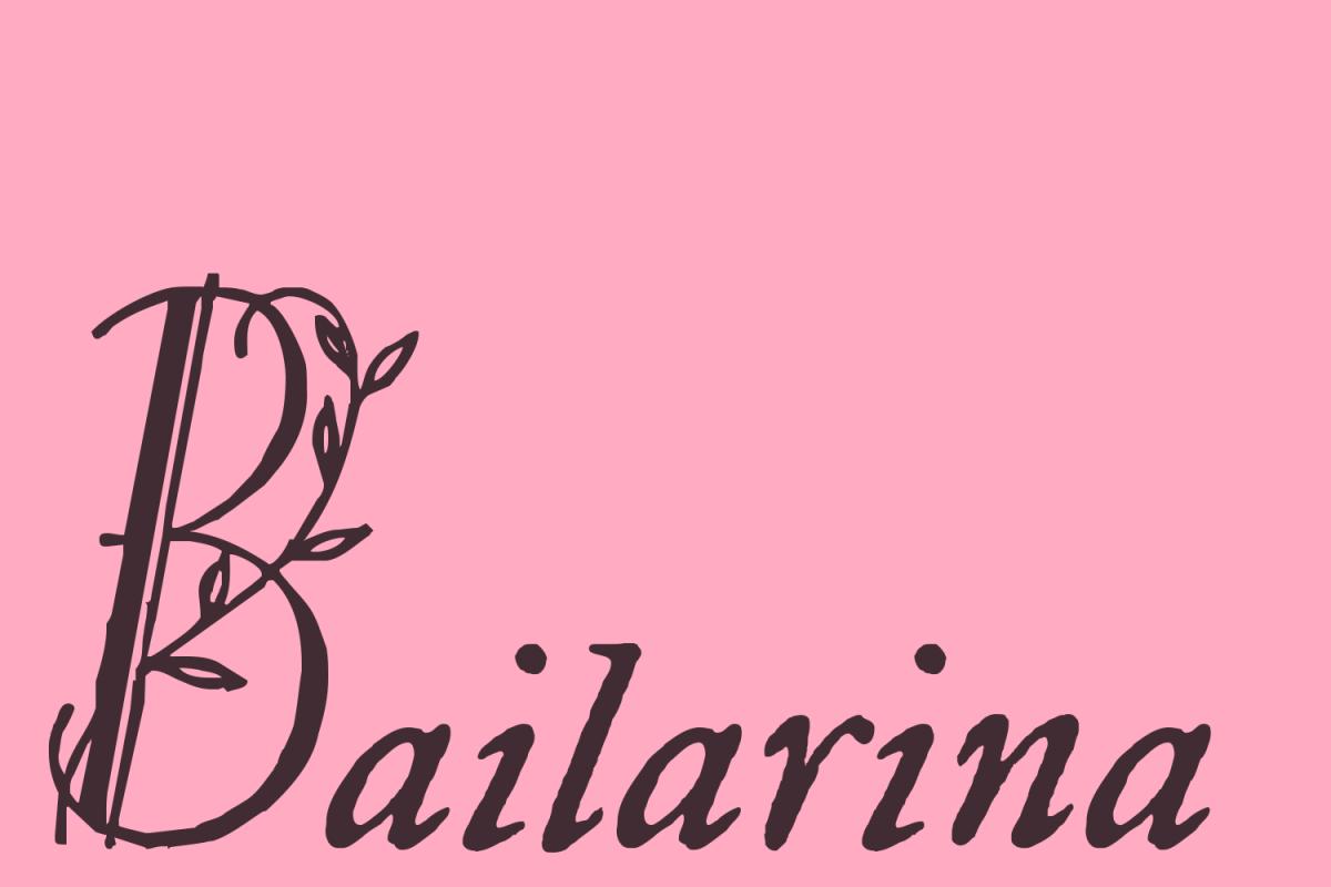 Bailarina example image 1