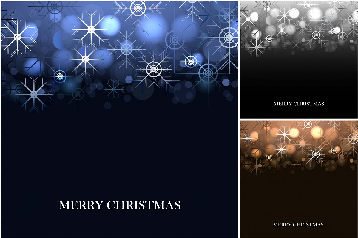Merry Christmas Backgrounds. example image 1