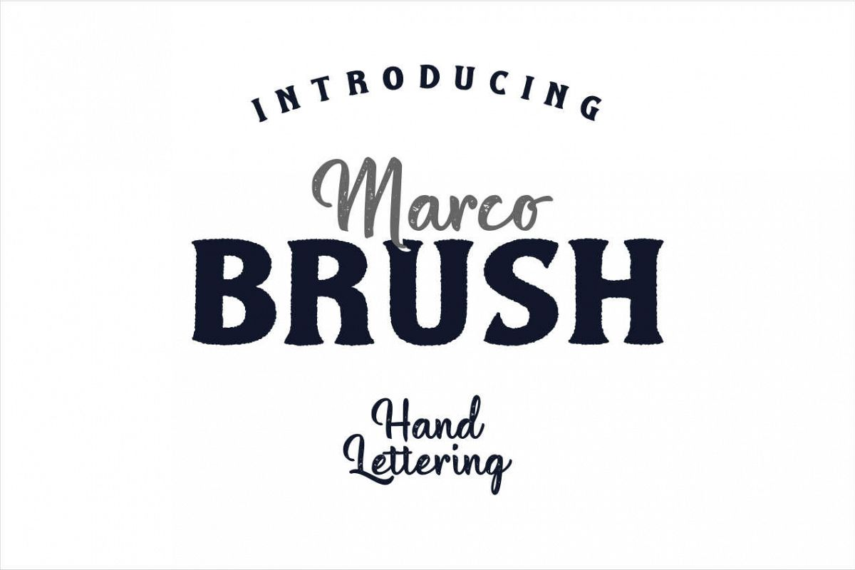 Marco Dual Font example image 1