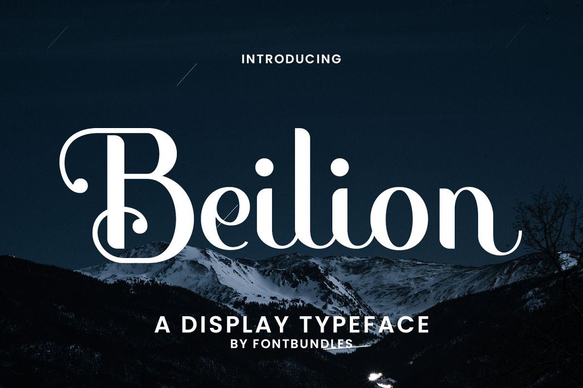 Beilion example image 1