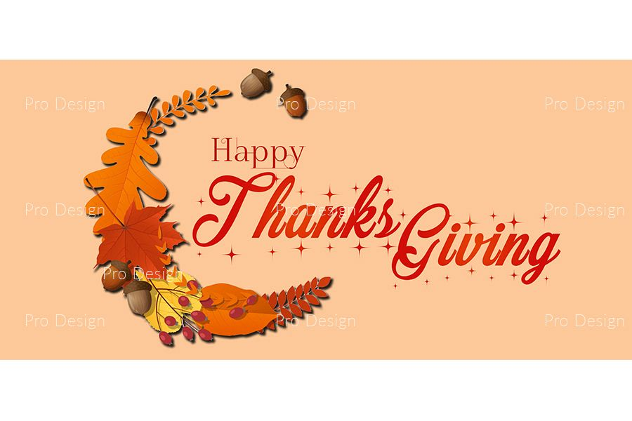 Thanks Giving Background example image 1