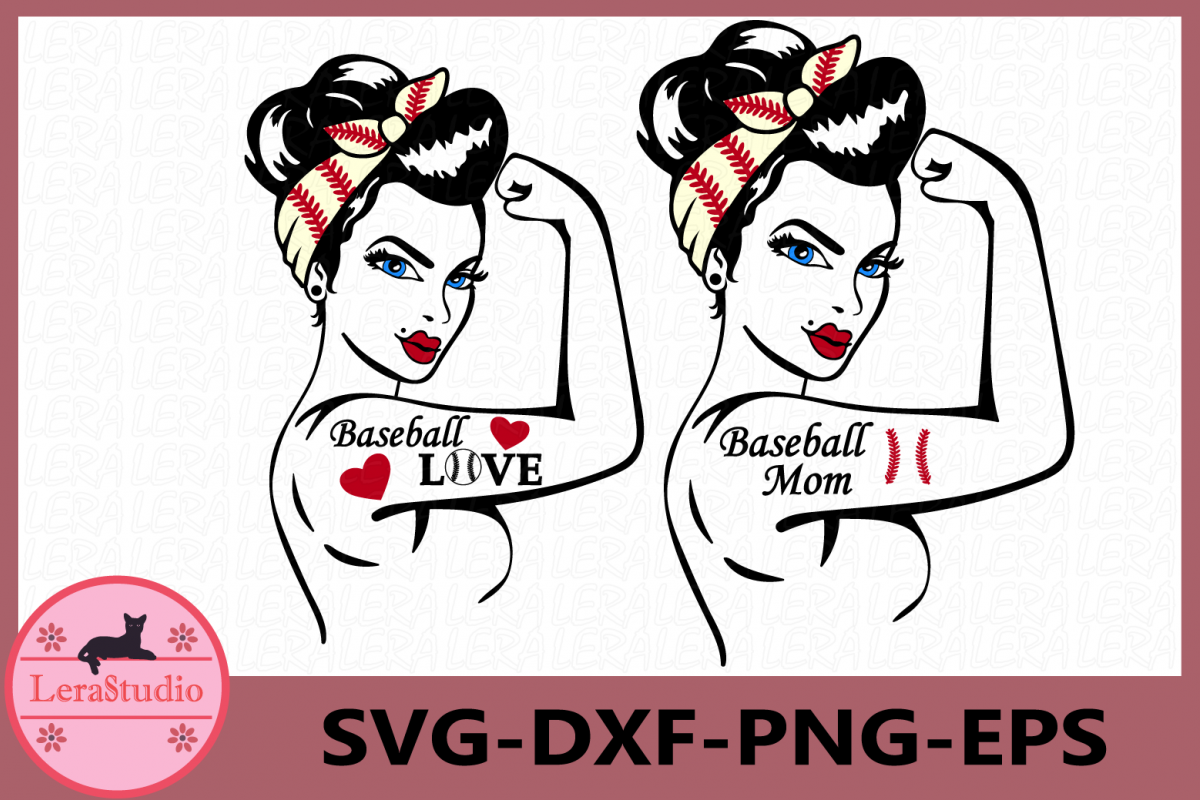 Baseball Mom SVG, Baseball Svg, Baseball Rosie Svg example image 1