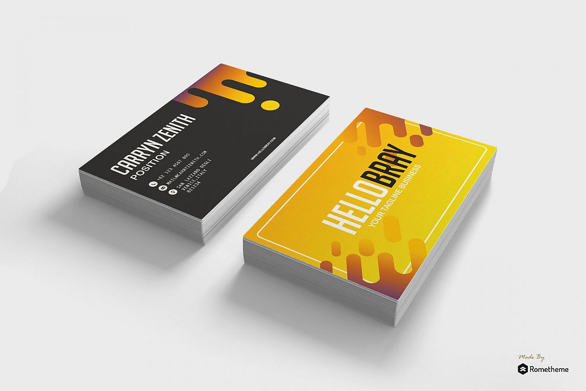 Business Card vol. 14 example image 1