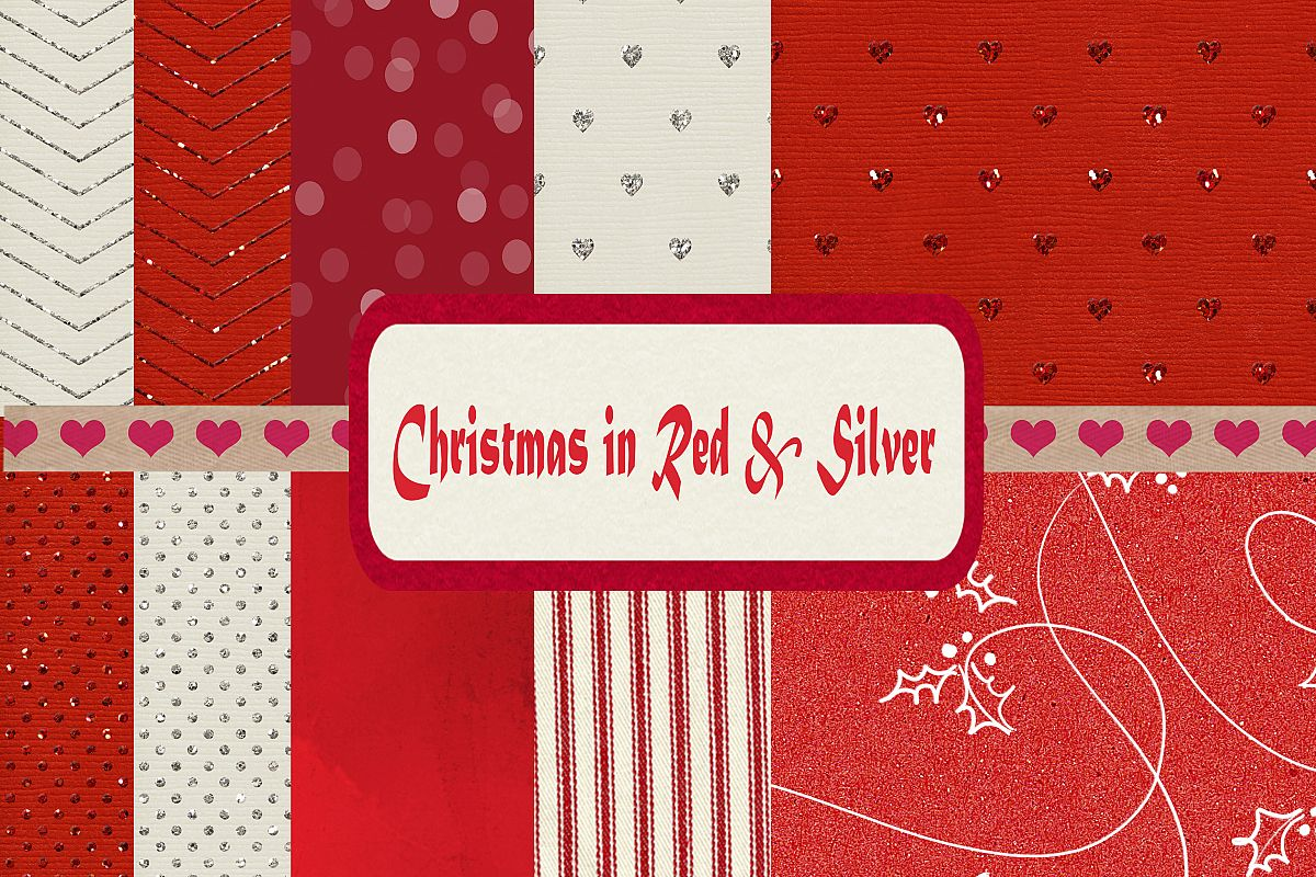 Christmas in Red & Silver example image 1
