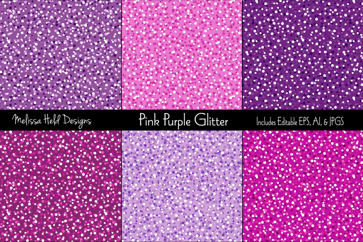 Pink and Purple Glitter Backgrounds example image 1