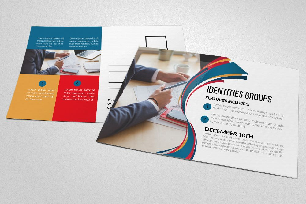 Business postcard template business postcard template example image 1 cheaphphosting Images