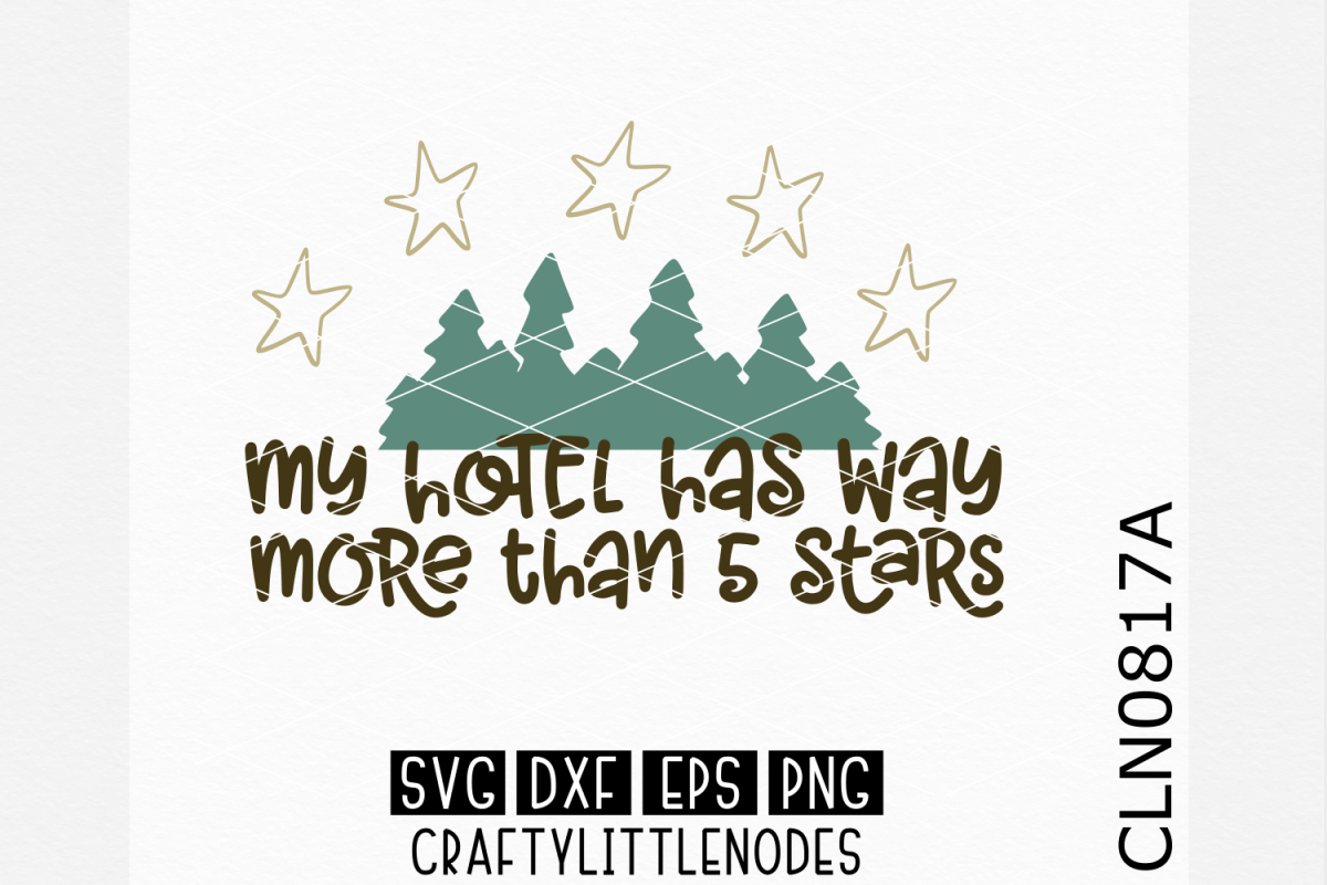 Way more than 5 star hotel SVG example image 1