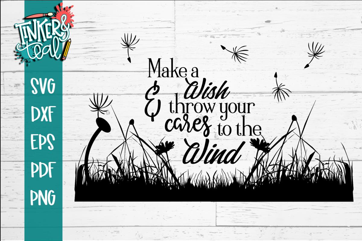 Make A Wish Inspirational SVG example image 1