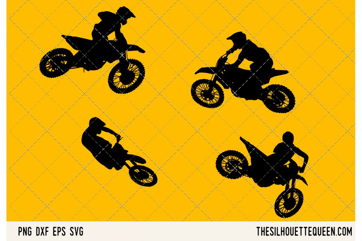 Motocross SVG example image 1