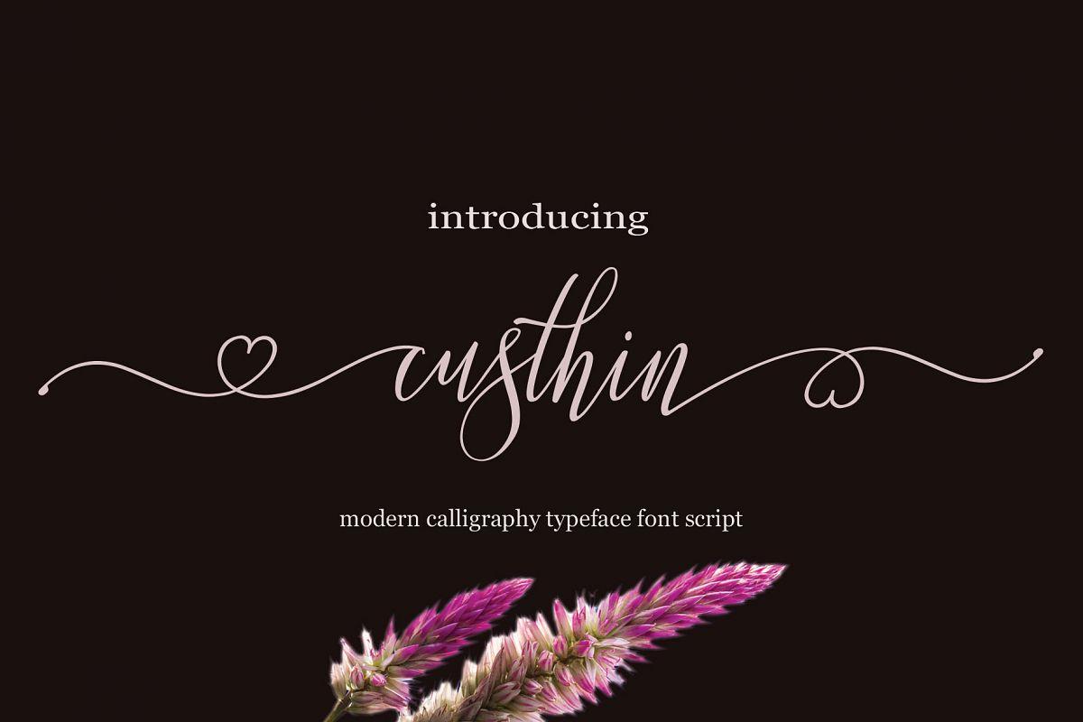 Custhin Script example image 1