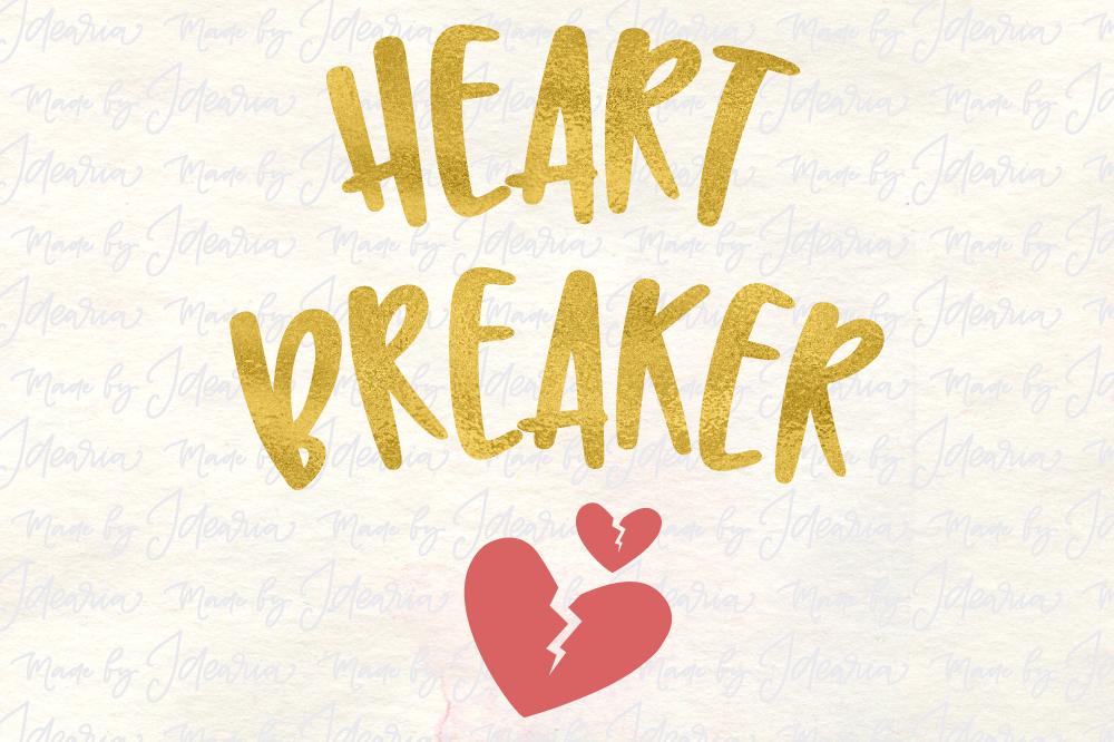 Heart Breaker Svg Valentine Svg Valentines Day Svg Valentines Svg
