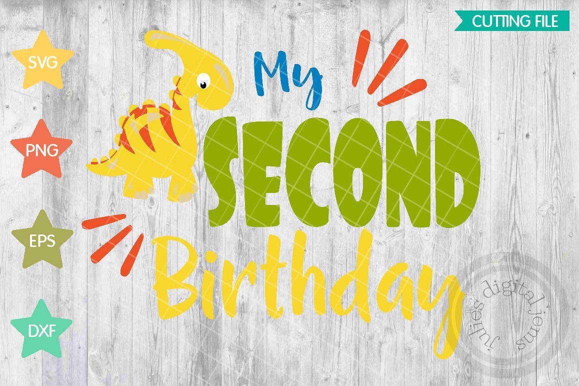Dinosaur Birthday Svg 1st Cut Files For Cricut Dino