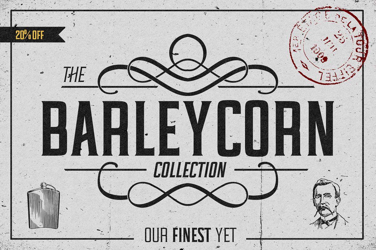 Barleycorn Typeface example image 1