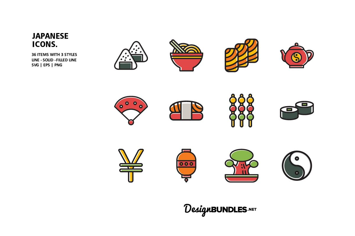 Japanese Icons example image 1