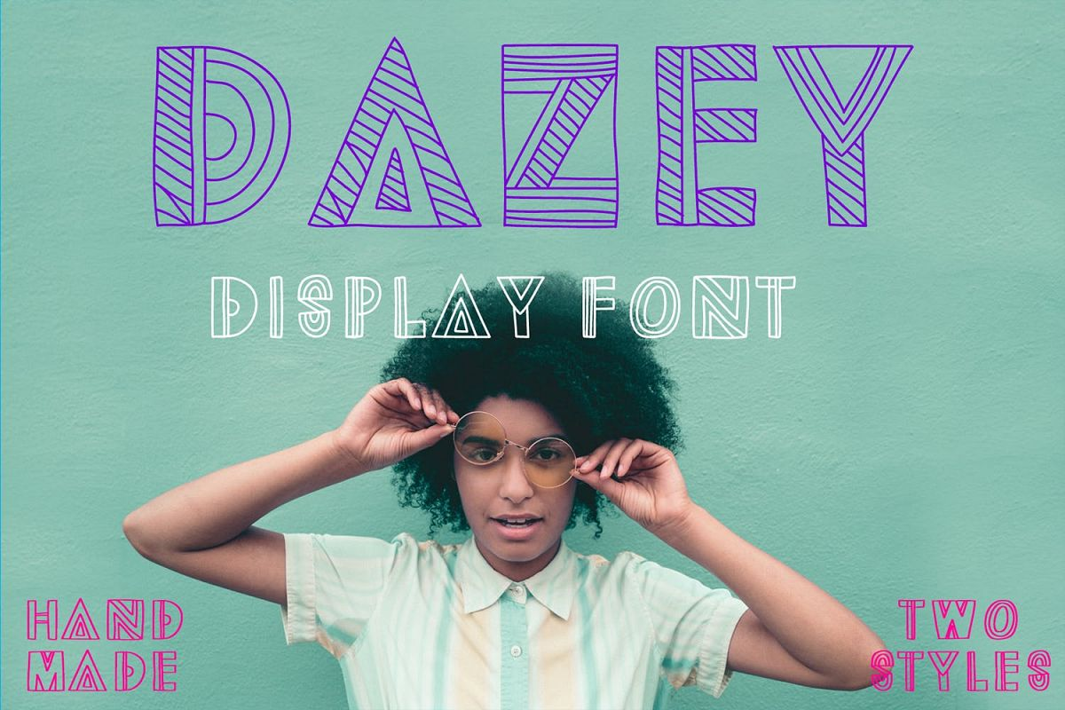 Dazey | A Fun Display Font example image 1