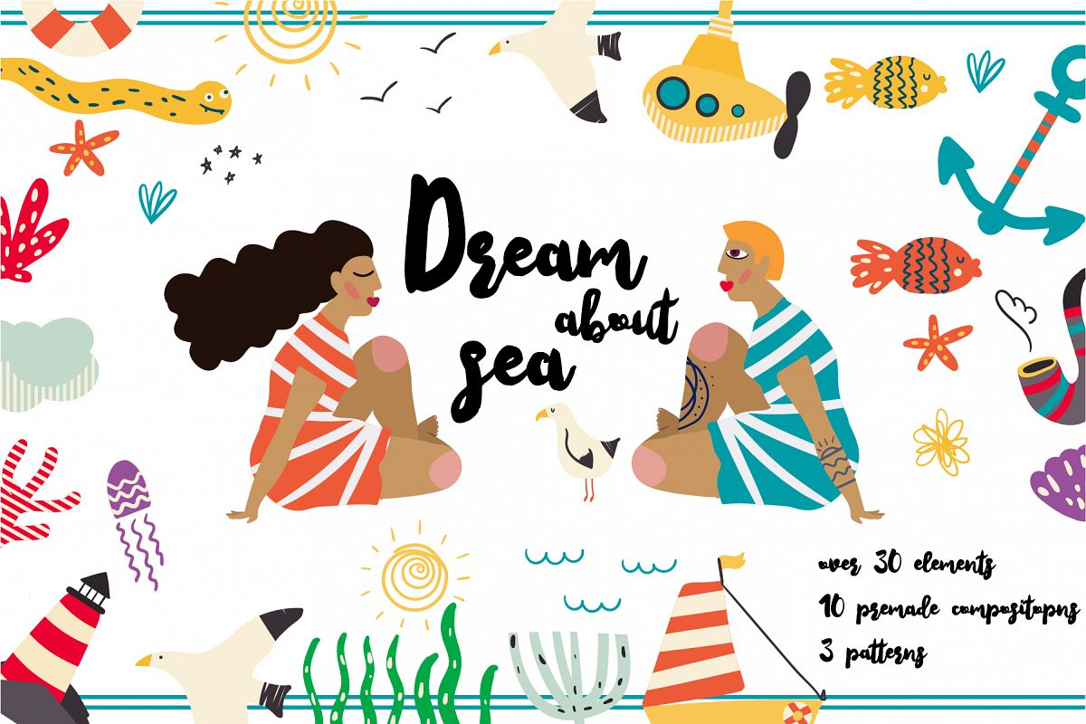 Dream about Sea set example image 1