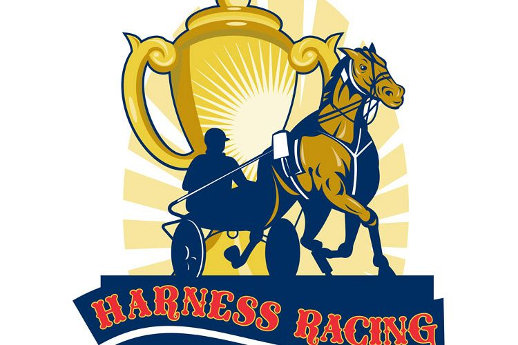 Harness horse race racing championship cup example image 1