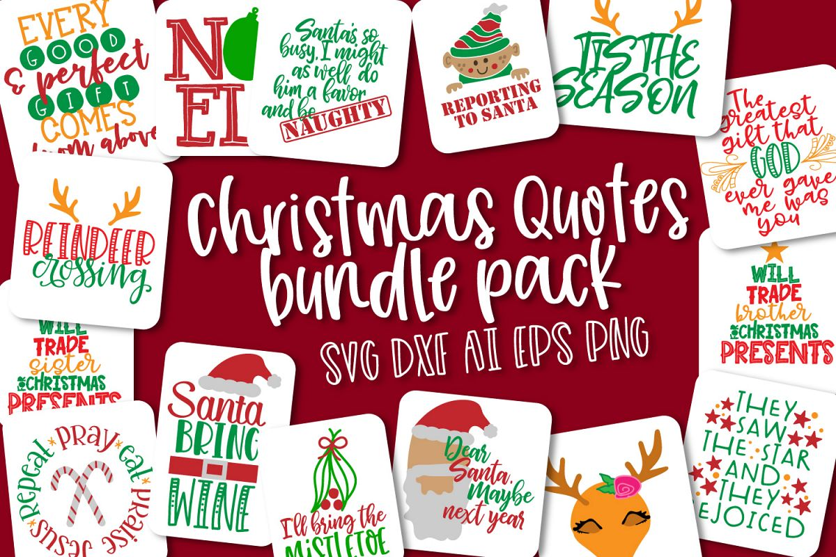 Christmas Bundle Pack - Quotes for Christmas