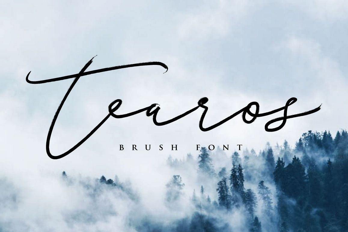 Tearos Typeface example image 1