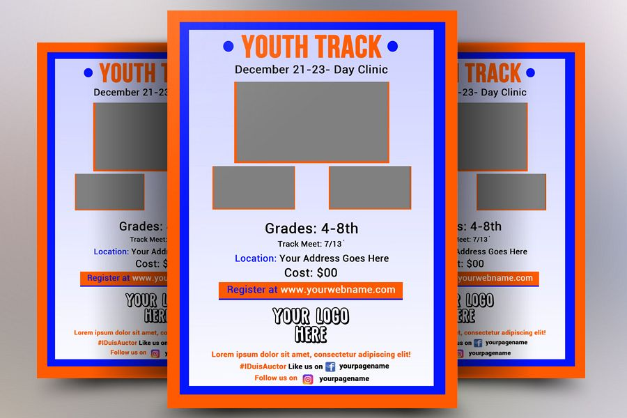 Track Flyer example image 1