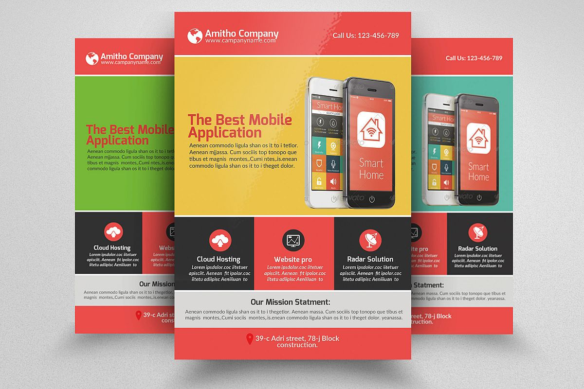 Mobile Apps Flyers example image 1