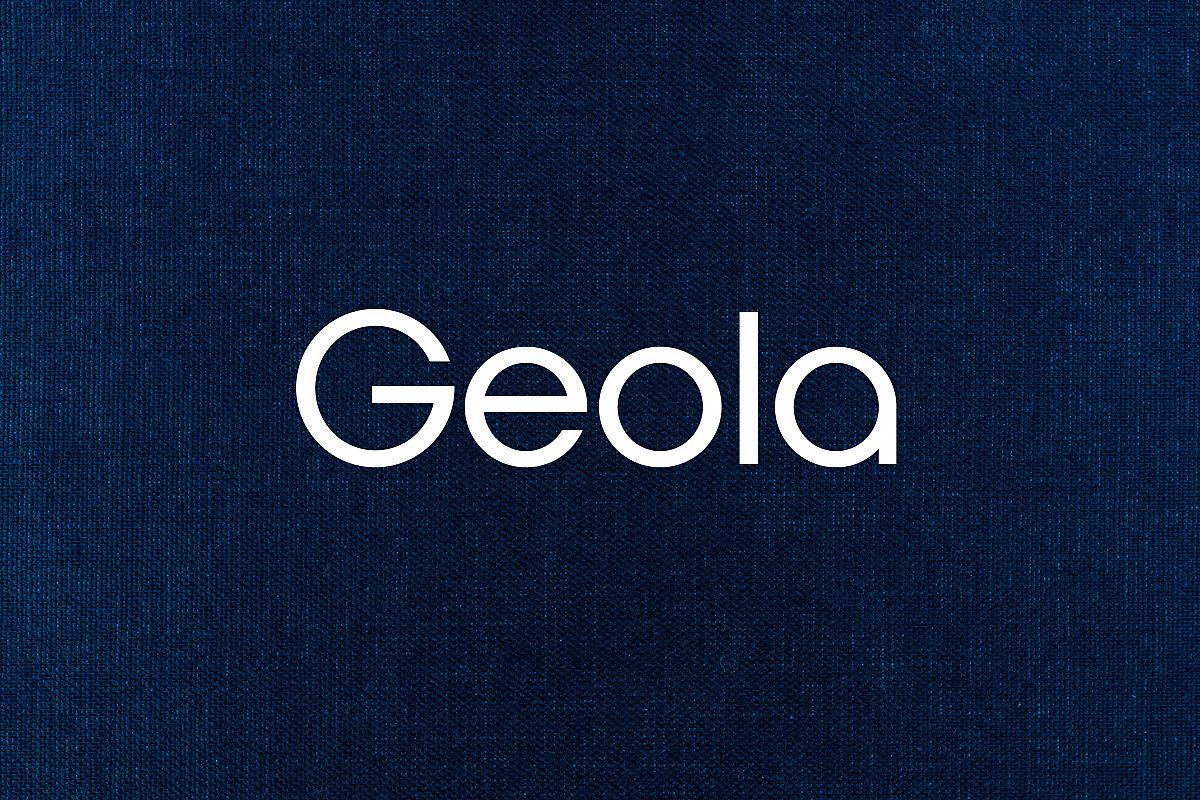 Geola - Logo Design Font example image 1