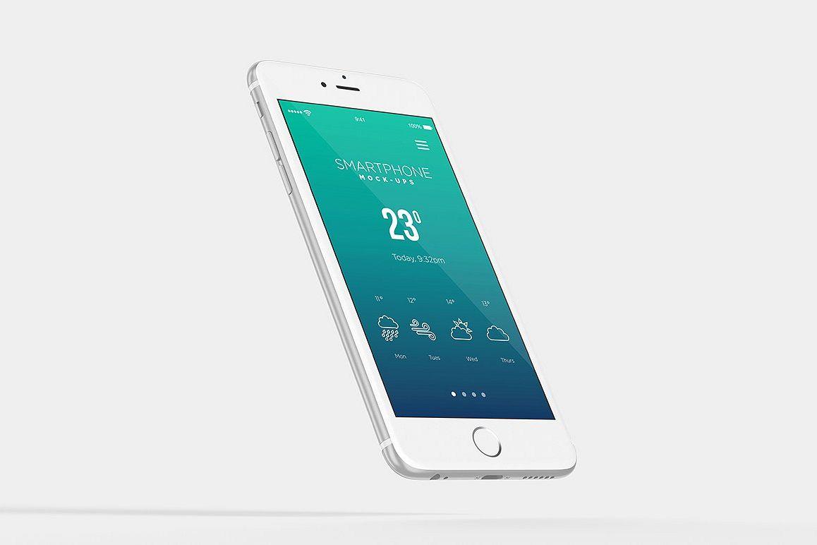 Smartphone Mock-Ups example image 1