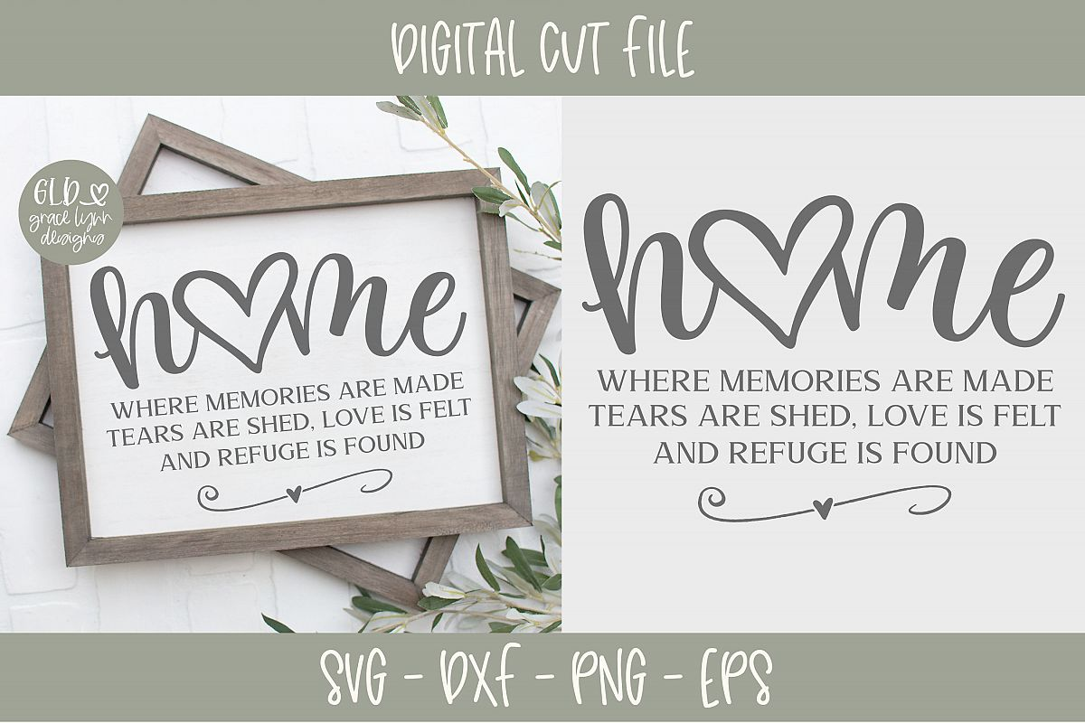 Home Where Memories Are Made - SVG example image 1