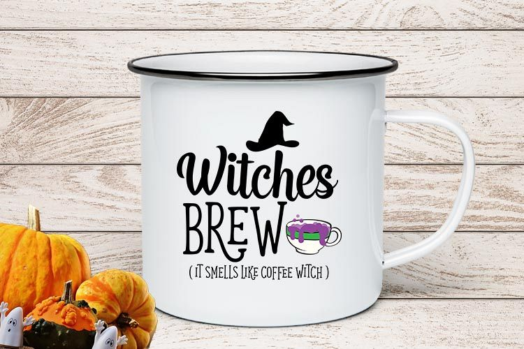 Witches Brew Halloween SVG example image 1