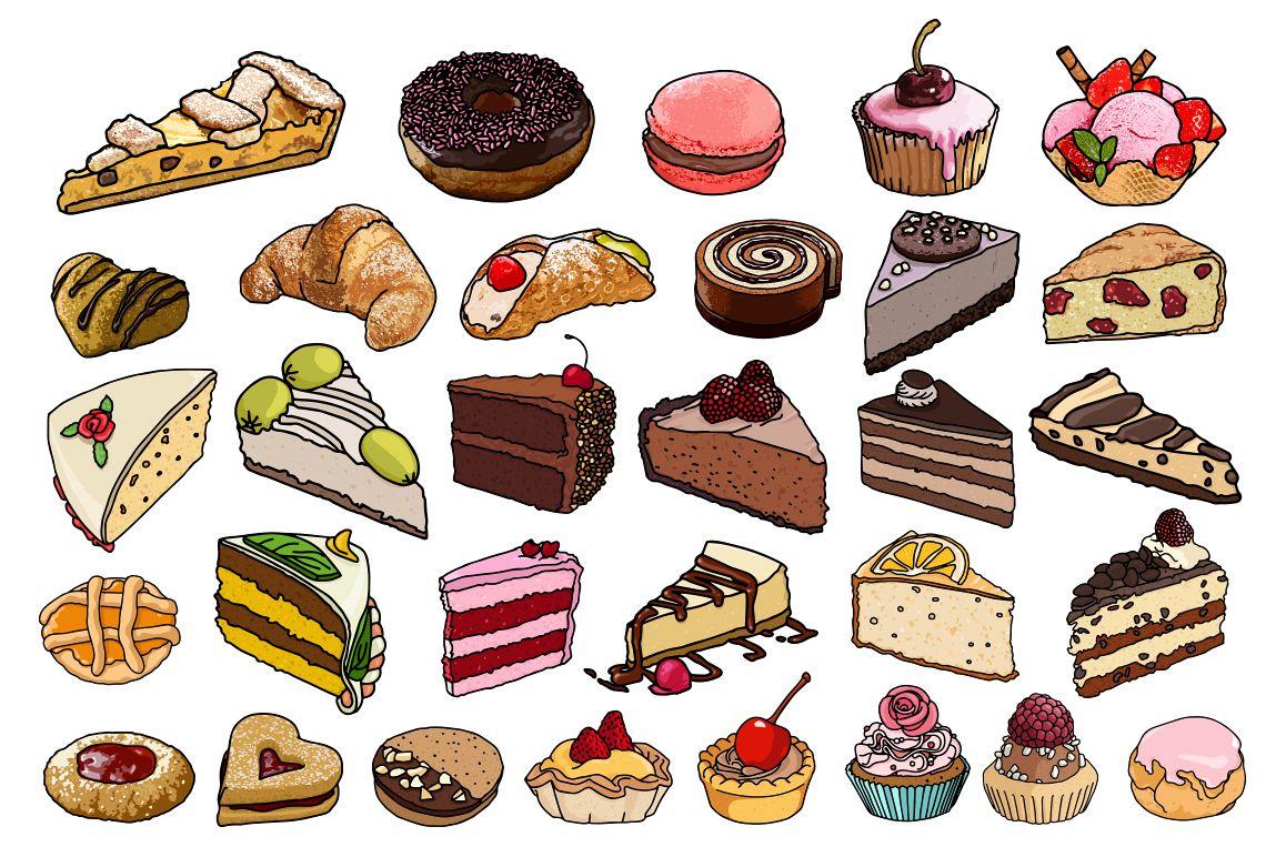 Sweet Food vector example image 1