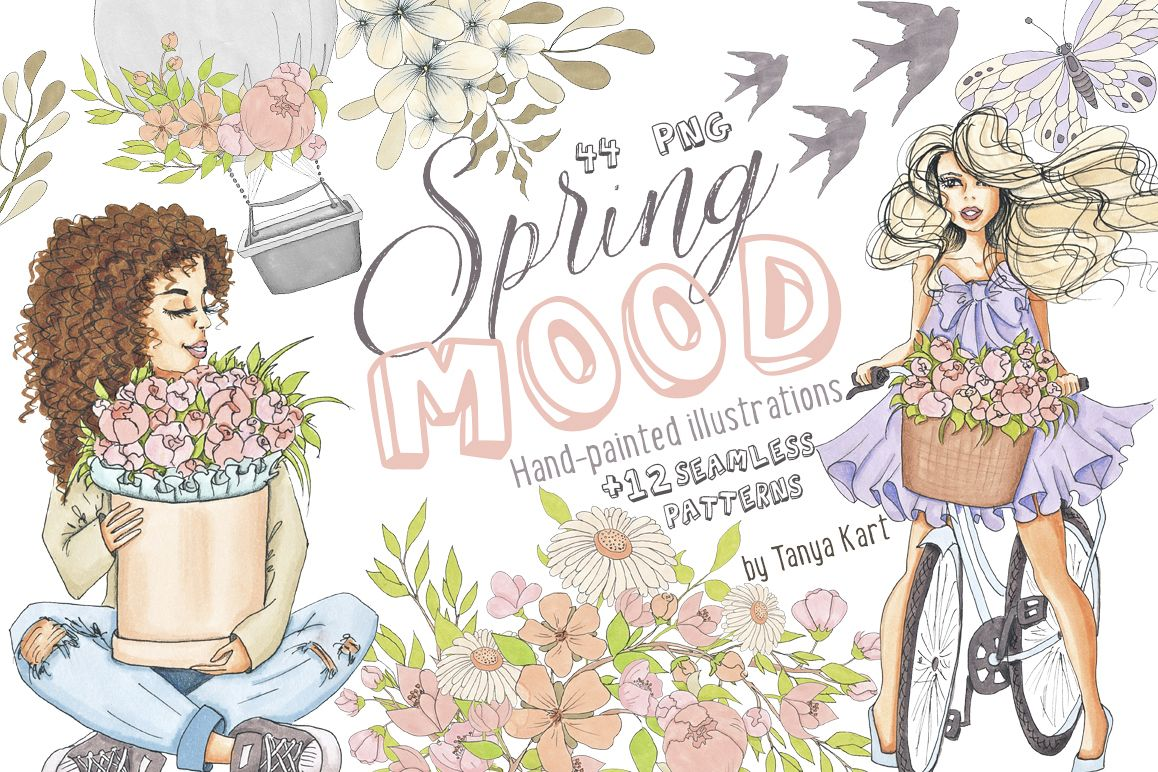 Spring Mood Design Kit example image 1