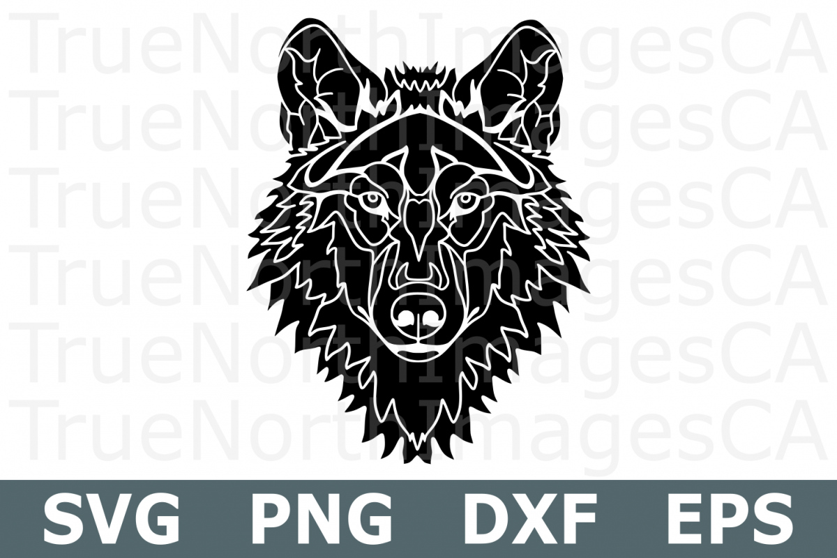 Wolf - An Animal SVG Cut File example image 1