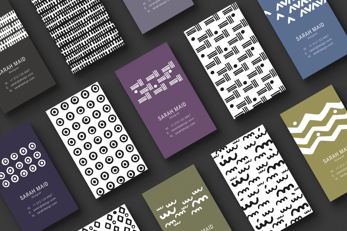 Minimal designer business cards minimal designer business cards example image 1 colourmoves