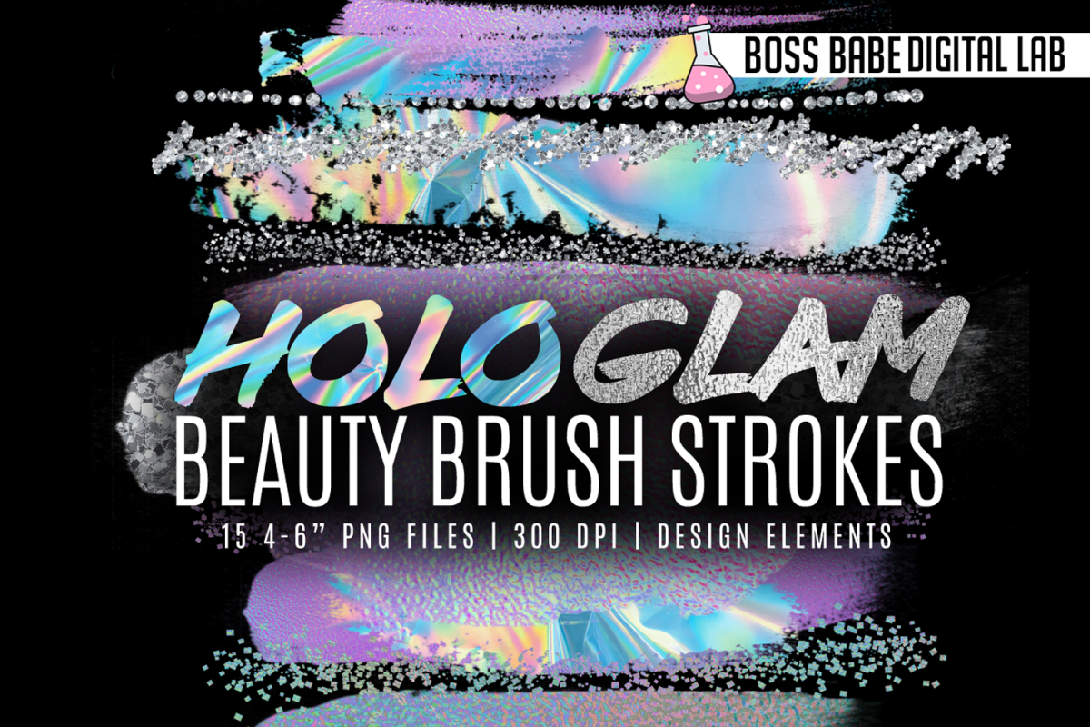 HoloGLAM Beauty Brush Strokes example image 1