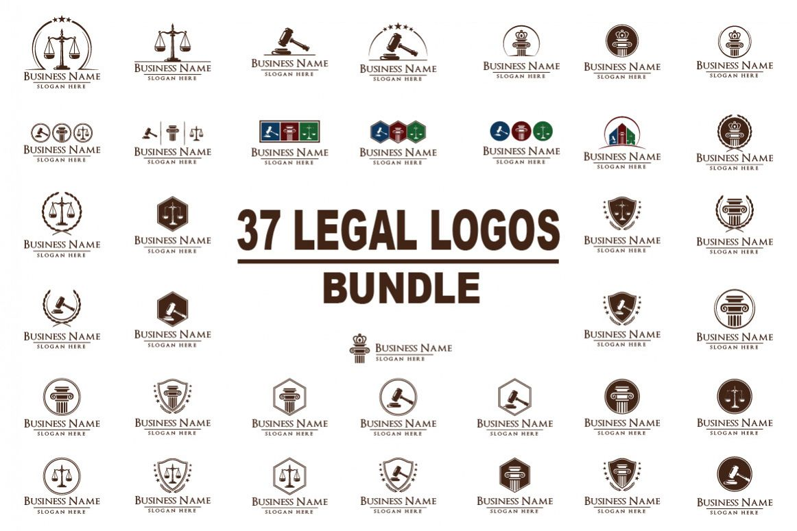 legal, law, lawyer, attorney, law office logo example image 1