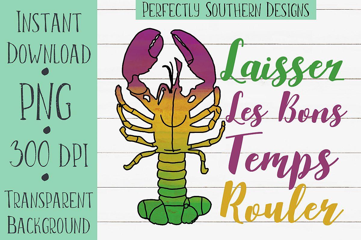 Laissez Les Bons Temps Rouler Crawfish example image 1