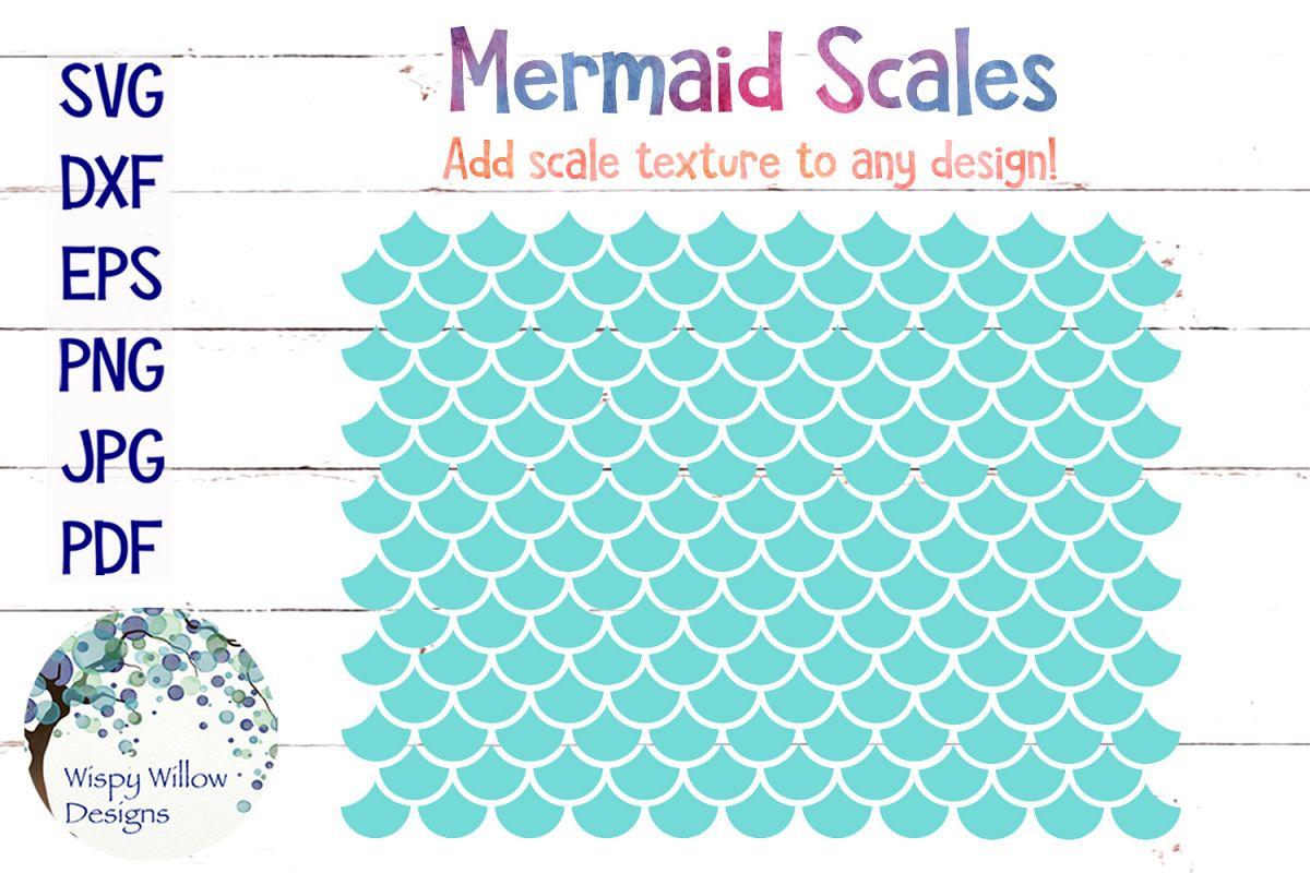 Mermaid Scales SVG example image 1
