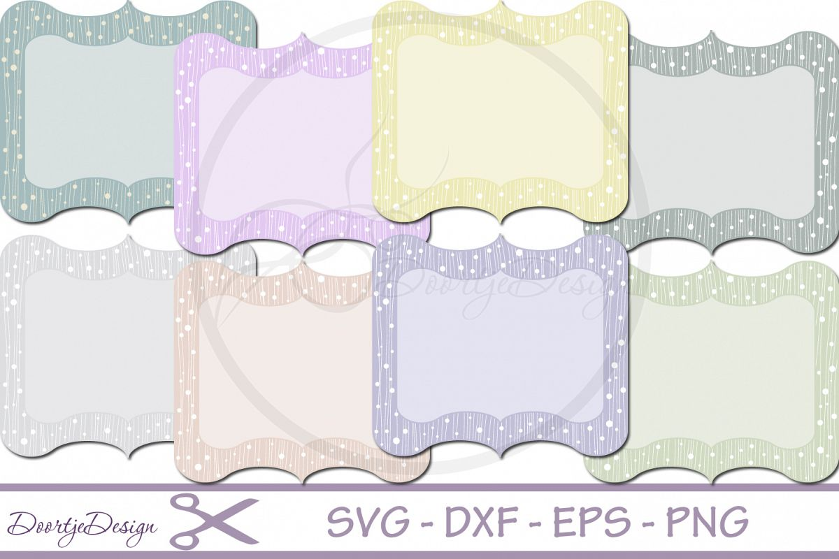 Digital Frames, Clipart dots stripes example image 1
