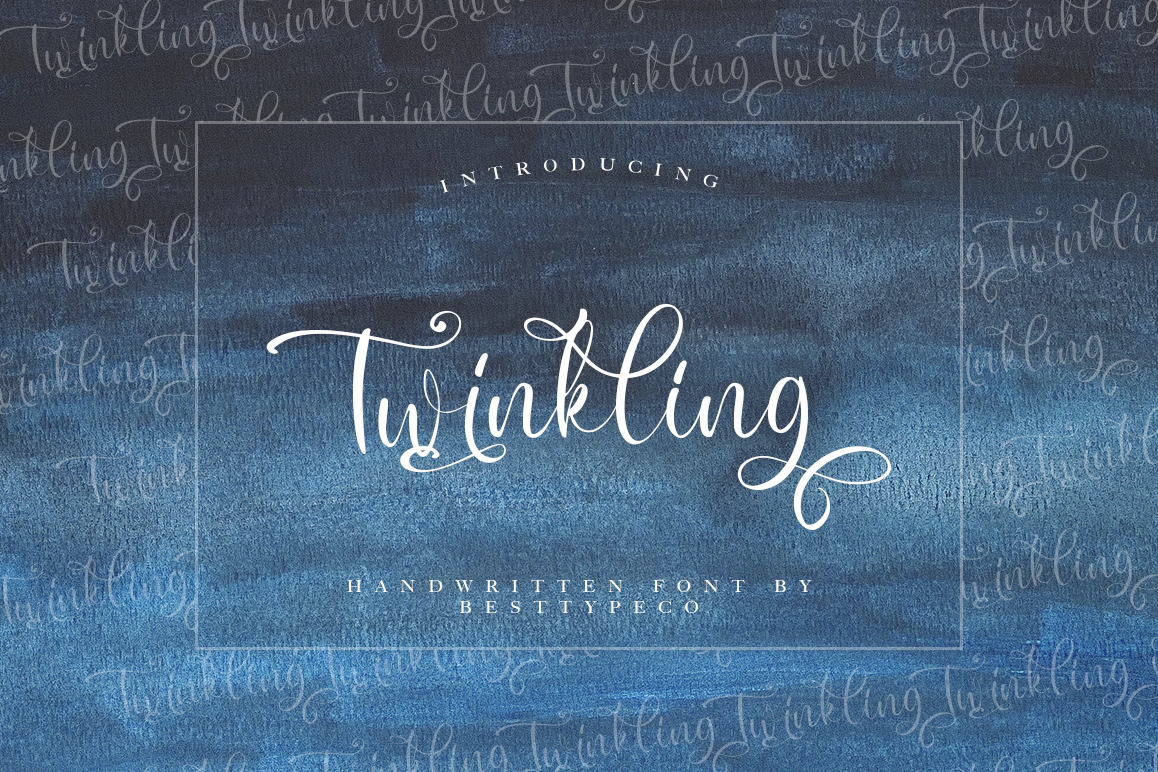 Twinkling example image 1