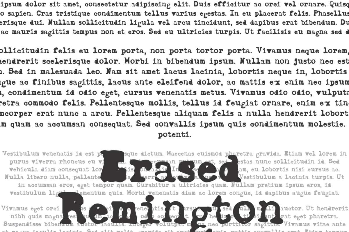ErasedRemington example image 1