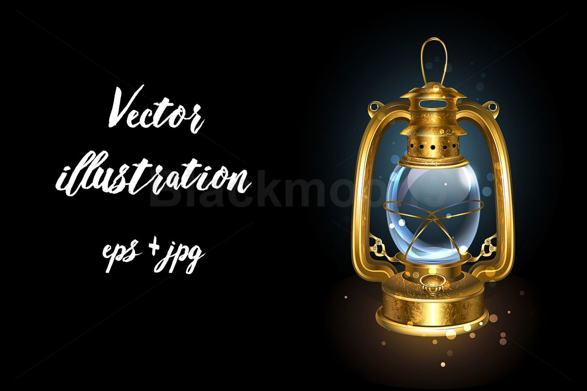 Kerosene Lantern example image 1